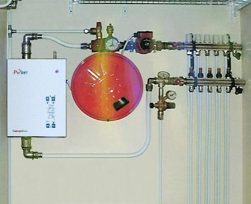 Электрокотел для теплого водяного пола своими руками 34